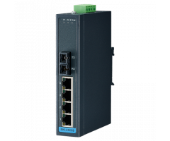 4 + 1FX SC Single-Mode unmanaged Ethernet switch