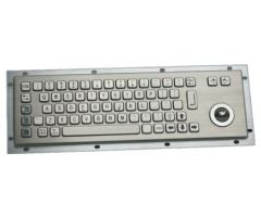 Inputel Stainless steel keyboard 66 keys, 330mm x 100mm,...