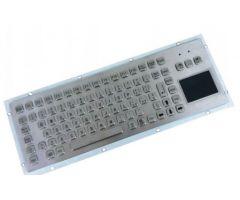 Inputel KB006-USB Rear Mount Stainless Steel Keyboard