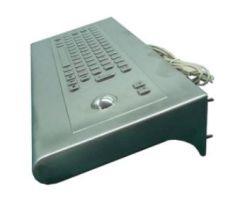 Inputel KWS001-USB Back Mount Stainless Steel Keyboard