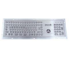 Inputel MKB704-USB Rear Mount Stainless Steel Keyboard