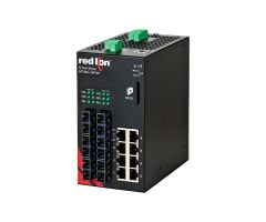 Red Lion NT24K-14FX6-SC-POE Industrial Managed Ethernet Switch