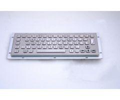 Inputel KB002-USB Rear Mount Stainless Steel Keyboard