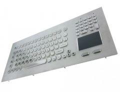 Inputel KB020-USB Panel Mount Stainless Steel Keyboard