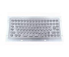 Inputel MKB702-USB Rear Mount Stainless Steel Keyboard