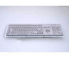 Inputel KB005K-USB Rear Mount Stainless Steel Keyboard