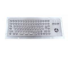 Inputel MKB-703-USB Rear Mount Stainless Steel Keyboard