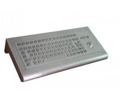 Inputel KWS003-USB Back Mount Stainless Steel Keyboard
