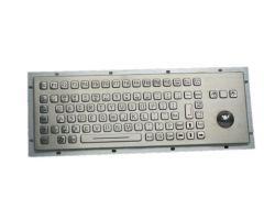 Inputel KB005L Rear Mount Stainless Steel Keyboard