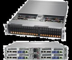 Supermicro SYS-2029BT-HNR Twin Server