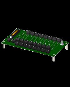 Dataforth 8BP08-2 5B-signaalinmuokkaimen asennusalusta