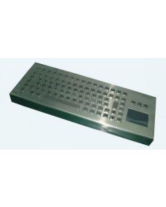 Inputel KB-CA4-USB Ruostumaton teollisuusnäppäimistö