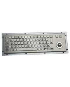 Inputel Stainless steel keyboard 66 keys, 330mm x 100mm,...